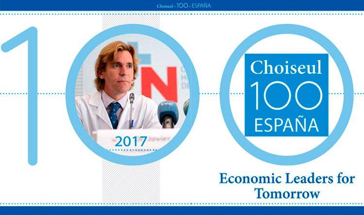 El Dr. Javier Castro incluido en el ranking Choiseul 100 España.